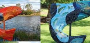 Trout Art Trail – Public Art in Blue Ridge