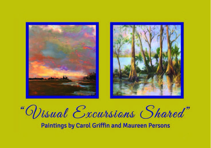 Visual Experiences Shared:Paintings by Carol Griffin & Maureen Persons