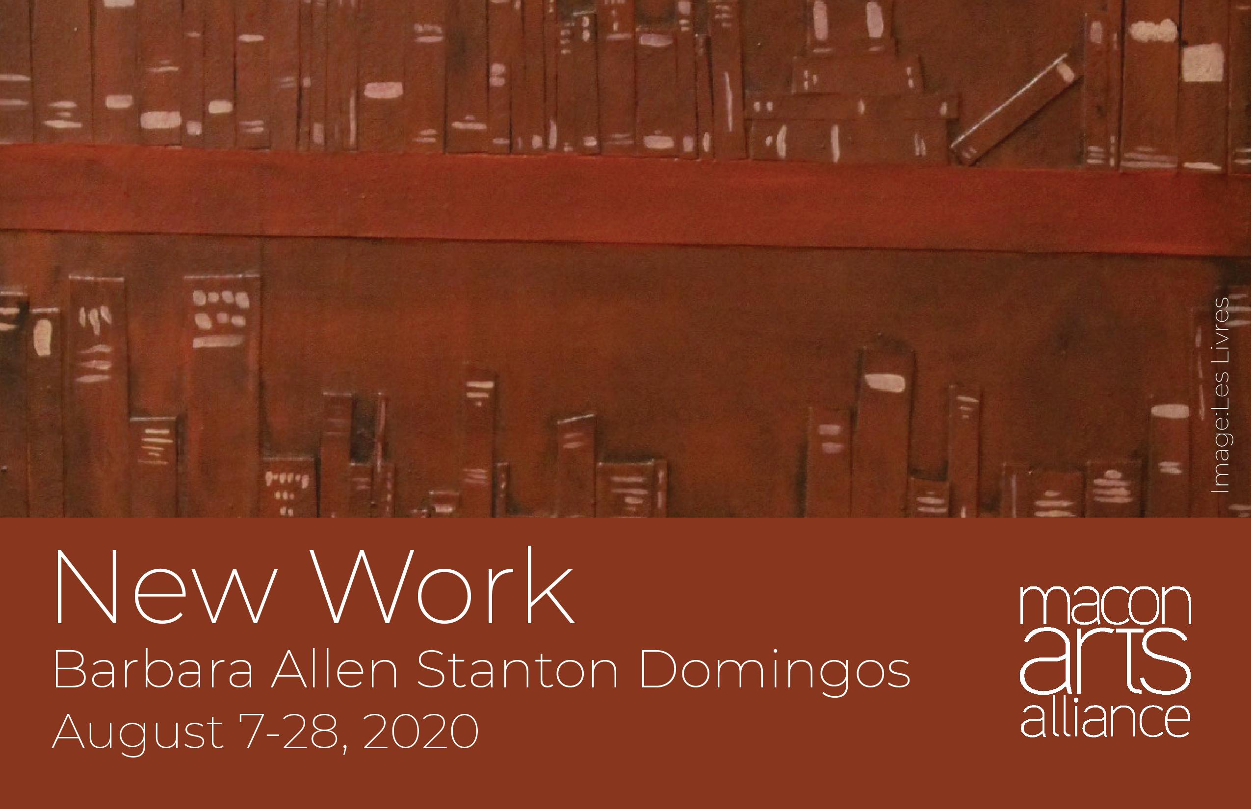 New Work by Barbara Allen Stanton Domingos